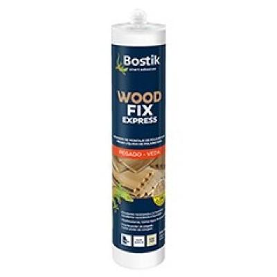 Adhesivo para Madera Wood Fix D4 Cartucho  310 ml Beige (Caja 12 Unid.)
