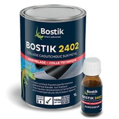 Pegamento Bostik 2402 Kit Resina 1 L + Endurecedor 40 ml Crema (Caja 3 Unid.)
