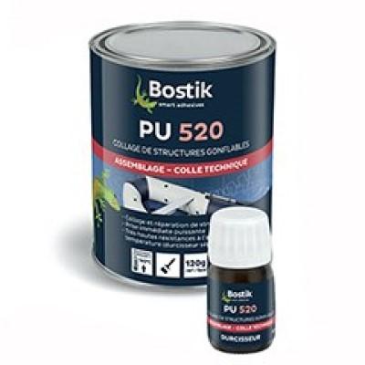 Pegamento Bostik PU 520 Kit Resina 750 ml + Endurecedor 30 ml Incoloro (Caja 6 Unid.)