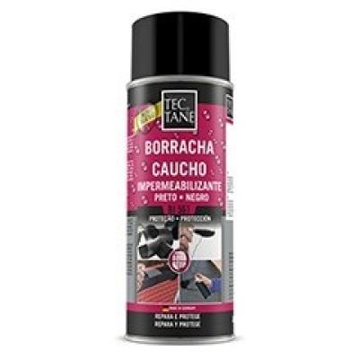 Spray Caucho Impermeabilizante BI 561 400 ml Negro (Caja 12 Unid.)