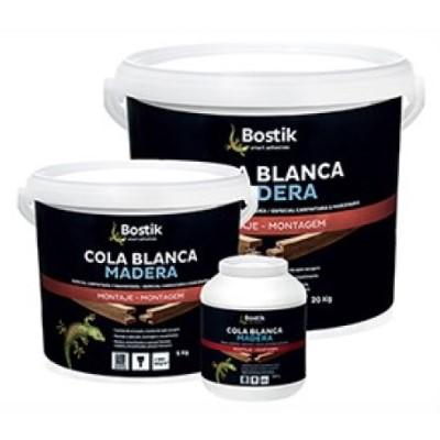 Cola Blanca Madera Bote 20 Kg Blanco