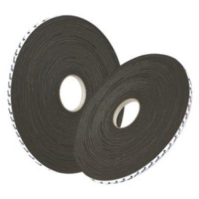 Cinta Doble Cara Foam Tape Paneltack® Rollos 25 m (Sección 12mm X 3mm) Negro (Caja 20 Unid.)
