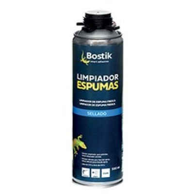 Limpiador Espuma Poliuretano en aerosol Bote 500 ml Transparente (Caja 12 Unid.)