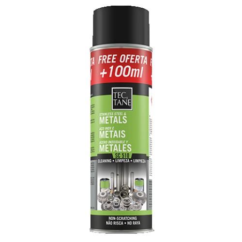 Spray Limpieza Inox y Metales SC 510 500ml (Caja 12 Unid.)