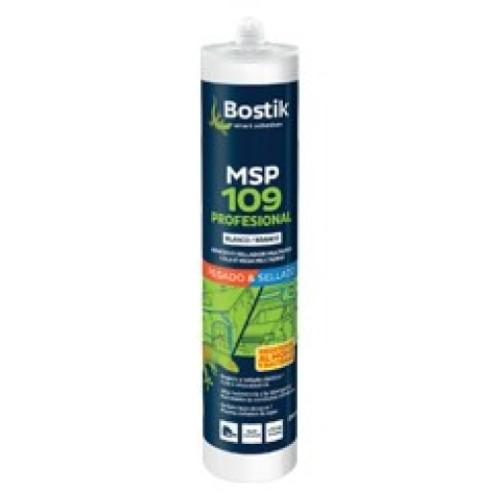 Adhesivo Sellador MSP 109 Profesional 290 ml Blanco (Caja 12 Unid.)