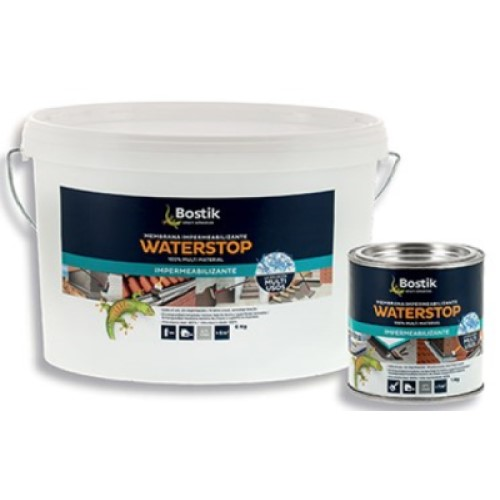 Impermeabilizante Water Stop Bote 6 Kg Gris