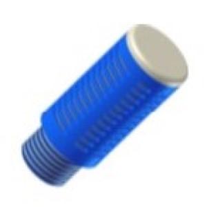 Racor Silenciador Plastico 1/8